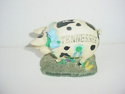 Piggy Bank Ceramic Tennessee Bringing Home the Bacon Vintage