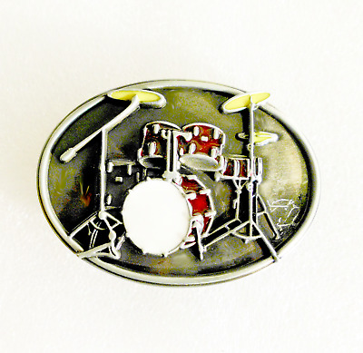 Oval Classic Music Band Buckle