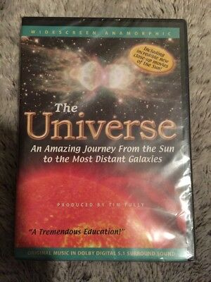 The Universe: An Amazing Journey From the Sun to the Most Distant Galaxies dvd