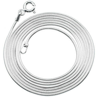 """Ana Silver Co 925 Sterling Silver Solid Chain 18"""""""
