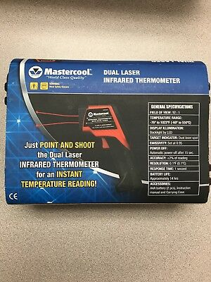 Mastercool Dual Laser Infrared Thermometer 52224-C (New)