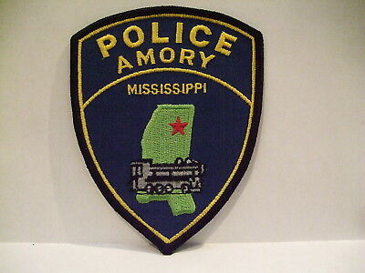 police patch  AMORY POLICE MISSISSIPPI
