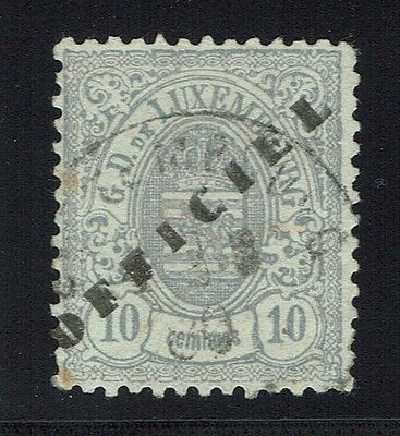 Luxembourg Scotts# O33 - Used - Expert Mark - Lot 011816