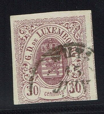 Luxembourg Scotts# 10 - Used - Lot 011816