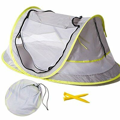 Large Baby Portable Beach Play Tent Provide UPF 50+ Sun Shelter,Baby Travel Bed