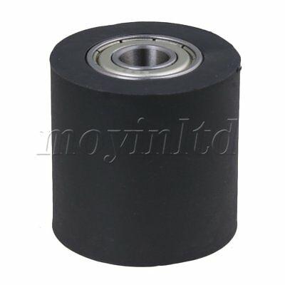 0.8x3x3cm Roller Rail Bearing Guide Pulley for Furniture Gearing DIY