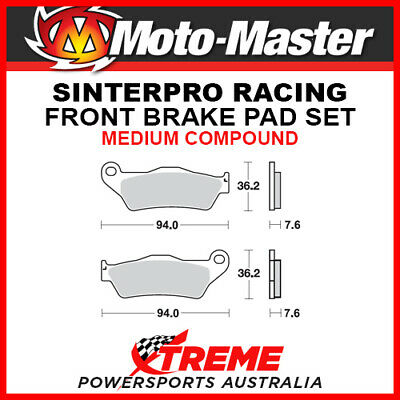 Moto-Master KTM 450 SX-F 2003-2018 Racing Sintered Medium Front Brake Pads