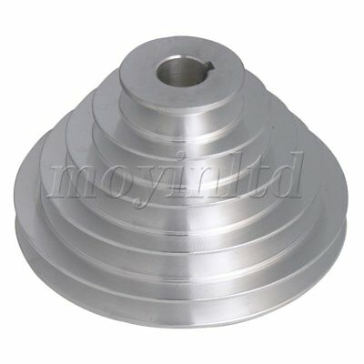 5.4-15cm OD 2.2cm Bore A Type Timing Belt 5Step Pagoda Pulley Belt