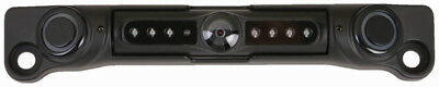 Power Acoustik Black With 2 Sensors Ccd Camera License Plate Mounting *L3Csb*