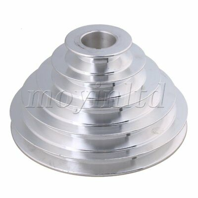 5.4-15cm OD 2.8cm Bore A Type Timing Belt 5Step Pagoda Pulley Belt