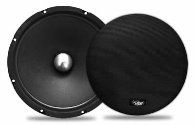"New VSMR8 Vibe Bullet Series 8"" 600 Watt Mid-Range Car Speaker 8 Ohm Impedance"