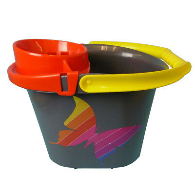 14 L Ltr Litre Plastic Mop Bucket Cleaning Home, Mopping, Kitchen, Business