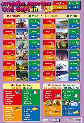 A2 Calender Poster/ educational / learning