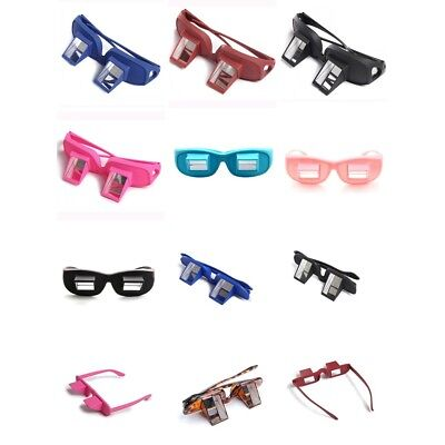 Watching TV Periscope Spectacles Prism Reading Glasses Lying Down Eyeglass Frame