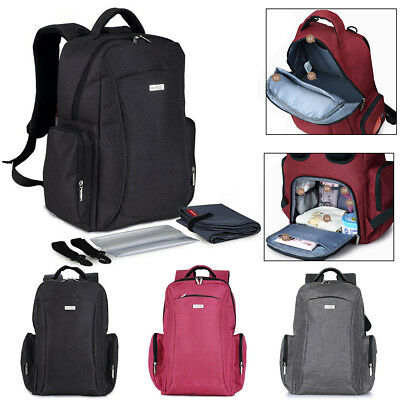 Multifunctional Baby Newborn Diaper Bag Mummy Backpack Nappy Changing Mother Bag