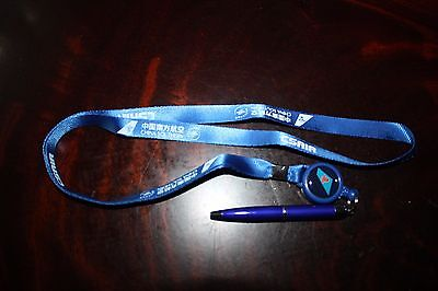 Lanyard Schlüsselband With Ball Pen China Southern Airlines