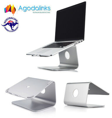 "Aluminum Laptop Holder Stand Dock For iPad MacBook Other 17"" Tablet Notebook K1"