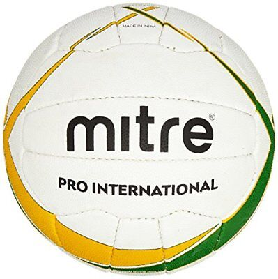NEW SALE Mitre Pro International Quality Match Competition Netball Ball Size 5