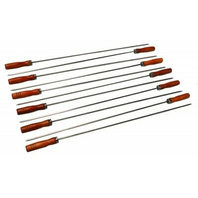 BBQ Rotisserie Stainless Steel Kebab Skewers for Cypriot Barbecues