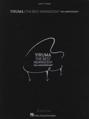 Yiruma The Best Reminiscent 10th Anniversary Easy Piano Sheet Music Book