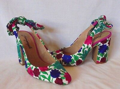 25f904c9ffde Free People Women s Dazzle Dazzle Floral Print Slingback Heel Retail  128  size 9