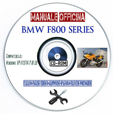 Manuale Officina BMW F800 S ST 2006 Workshop Manual Multilanguage Reprom