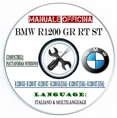 Manuale Officina Bmw R 1200 ST RT GS R1200 ADVENTURE 2005 Workshop Manual Repair