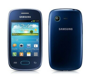 Samsung Galaxy Pocket Neo in Blue Black Handy Dummy Attrappe - Requisit, Deko