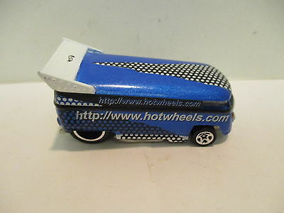 Hot Wheels Racy Bus with Hotwheels on side  Unique  Classic  Collectable