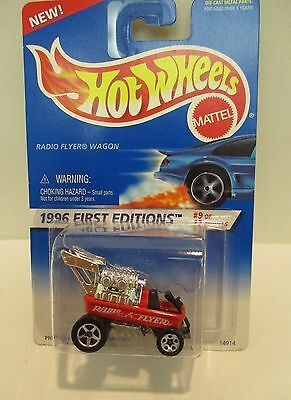 Hot Wheels 1996 First Editions Radio Flyer Wagon   #9 of 12 Collectable