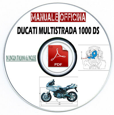 Manuale Officina Ducati MULTISTRADA 1000 DS 2003 Workshop Manual Service Repair