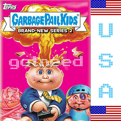 2013 USA Garbage Pail Kids Brand New Series 2 COMPLETE Set - BNS 2