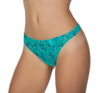 8a6f6925cd Panache Tango Women s Ladies Embroidered Mesh Thong Panty Underwear MRSP  31