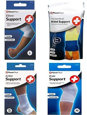 Support Bandages For Elbow Wrist Calf Ankle Hand Or Knee ~ Injury Gym Supports