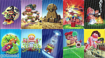 2013 USA Garbage Pail Kids Brand New Series 2 COMPLETE 3D Set BNS2
