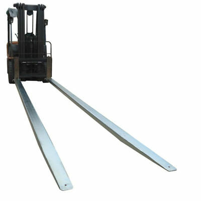 Forklift fork Extensions Slippers Galvanized Class 4 3.5m Suit Max Fork 165x65mm