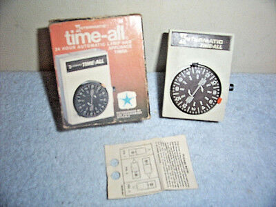 Vintage Intermatic Time-All 24 Hour Automatic Lamp & Appliance Timer Model D111