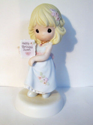 Precious Moments Sixteen Sweet Age 16 Girl Porcelain Figurine 2003