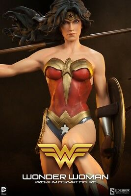 Wonder Woman Exclusive Sideshow Collectibles Premium Format Statue 1/4 Scale