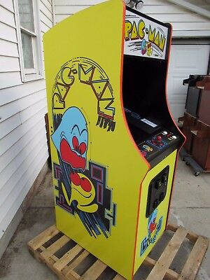 "New 27"" LED LCD  Pacman Ms Pac man Galaga commercial upright video arcade game"