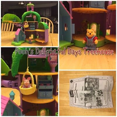 Poohs Friendly Places Delightful Days Tree House Winnie The Pooh & Piglet