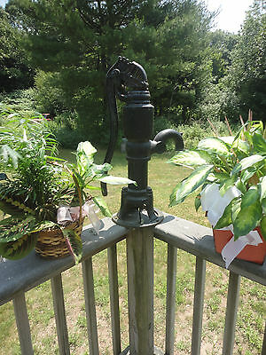Antique Myers Cast Iron Handle Water Pump 2877 **Note**