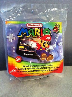 Mario Kart Super Circuit Wendy's Promotion 2002 Mint Sealed Never Opened