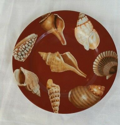 Plate Fitz And Floyd Coquille De Mer Fine Porcelain Plate Ff Collectable #6