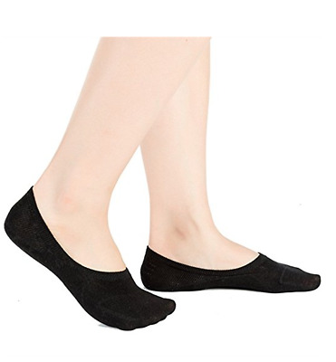 6 Pack Women Ankle Invisible No Show Nonslip Loafer Boat Liner Cotton Socks Lot