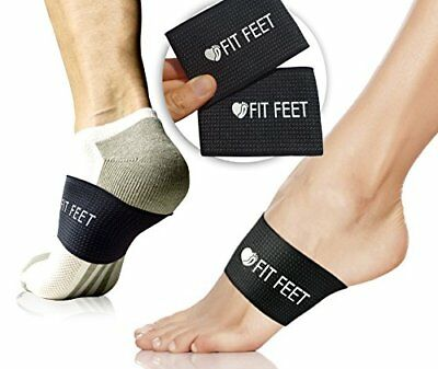 2 Pain Relief Orthotic Compression Braces for Sore Feet Plantar Fasciitis Heel