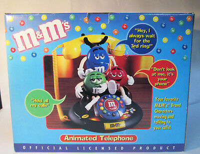 M & M's Characters Animated Talking Telephone Phone