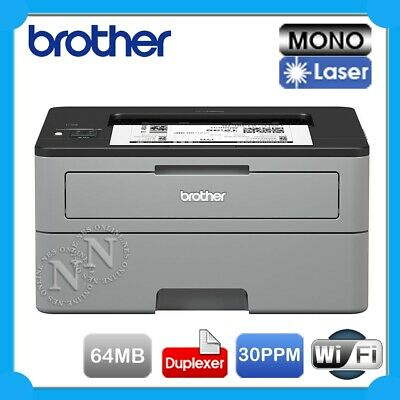 Brother HL-L2350DW Mono Laser Wireless Printer+Auto Duplexer 64MB 30PPM TN-2430