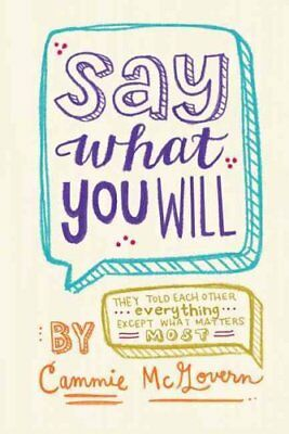 Say What You Will by Cammie McGovern (Hardback, 2014)