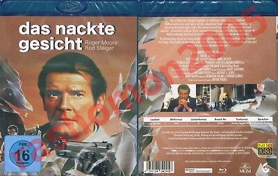 Blu-Ray THE NAKED FACE (1984) Roger Moore Rod Steiger Anne Archer Region B/2 NEW